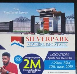 Residential Land Land for sale Agbala Aba Owerri Road  Owerri Imo