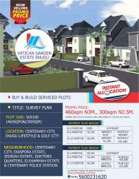 Serviced Residential Land Land for sale Centenary City Enugu Lifestyle and Golf City  Enugu Enugu