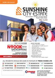Residential Land Land for sale Near International Airport Asaba Delta State  Asaba Delta