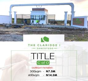 Serviced Residential Land Land for sale Monastery Road behind Shoprite  Sangotedo Ajah Lagos