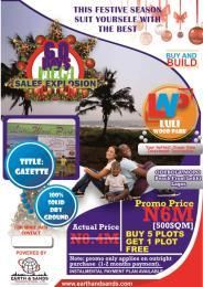 Residential Land Land for sale Near Abraham Adesanya Roundabout  Sangotedo Ajah Lagos