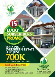 Residential Land Land for sale ODO EGIRI Epe Road Epe Lagos