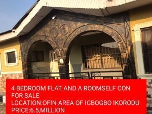 5 bedroom House for sale OFIN ROAD IGBOGBO IKORODU  Ikorodu Ikorodu Lagos