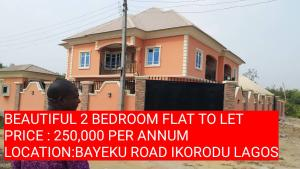 2 bedroom Self Contain Flat / Apartment for rent GBENGA BANWO STREET  Igbogbo Ikorodu Lagos
