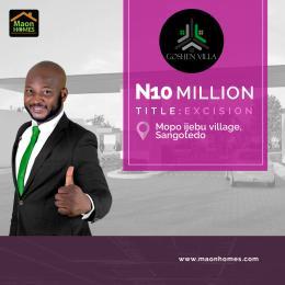 Residential Land Land for sale SONGOTEDO, mopo ijebi village. Off Lekki-Epe Expressway Ajah Lagos