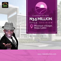 Residential Land Land for sale musoyo village LaCampaigne Tropicana Ibeju-Lekki Lagos