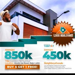 Residential Land Land for sale Lekki Boulevard Estate Akodo Ise Ibeju-Lekki Lagos