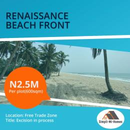 Serviced Residential Land Land for sale Free Trade Zone Ibeju-Lekki Lagos