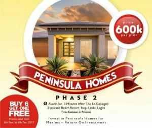 Land for sale Ise town Akodo Ise Ibeju-Lekki Lagos