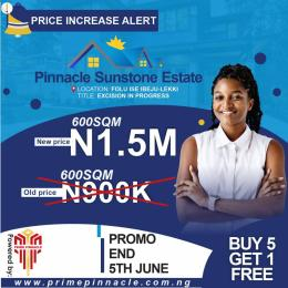 Commercial Land Land for sale Folu junction, Ibeju Lekki. Ibeju-Lekki Lagos