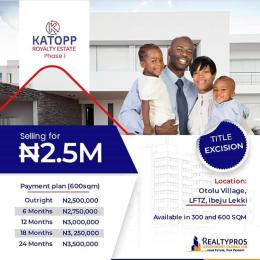 Mixed   Use Land Land for sale Otolu village, LFTZ, Ibeju-Lekki  Free Trade Zone Ibeju-Lekki Lagos