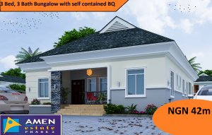 4 bedroom Detached Bungalow House for sale Amen Estate Development, Eleko Beach Road, Off-Lekki epe Express, Ibeju-lekki,Lagos, Nigeria  Eleko Ibeju-Lekki Lagos