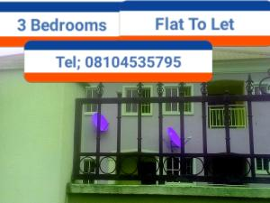 3 bedroom Blocks of Flats House for rent ICE Road, off Airport road  Oredo Edo