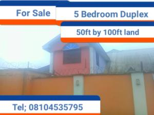 5 bedroom House for sale Ebo, Ihirihi road, airport road  Oredo Edo