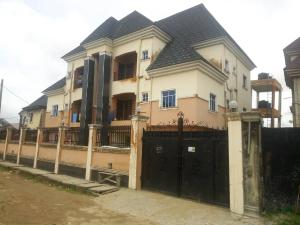 3 bedroom Blocks of Flats House for sale Green Field estate Ago palace Okota Lagos