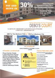2 bedroom Flat / Apartment for sale P.14 B.62 Dr. Ahmid Balogun street  Lekki Phase 2 Lekki Lagos