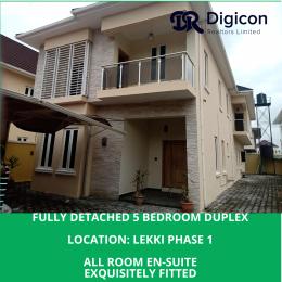 5 bedroom Detached Duplex House for rent Oyibo Adjarho Street Lekki Phase 1 Lekki Lagos