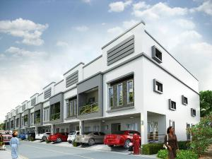 3 bedroom Terraced Duplex House for sale Orchid Road By Second Lekki Toll Gate Lekki Lagos chevron Lekki Lagos - 1