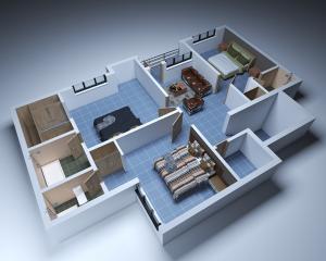 1 bedroom mini flat  Penthouse Flat / Apartment for shortlet - Majek Sangotedo Lagos