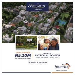 Land for sale Fairmont Hilltop Estate Alagbado Abule Egba Lagos