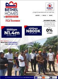 Residential Land Land for sale Close to the new international airport Eleranigbe Ibeju-Lekki Lagos