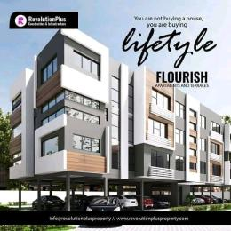 Terraced Duplex House for sale Orchid Road by  chevron Lekki Lagos