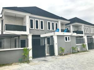 4 bedroom Semi Detached Duplex House for rent Lafiaji Lekki Lagos