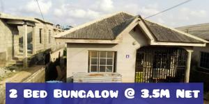 Detached Bungalow House for sale ile iwe accessible via abule egba, meiran and command. Ipaja Lagos