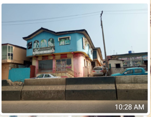 Detached Duplex House for sale yaya abatan rd ogba Ikeja Lagos Ifako-ogba Ogba Lagos