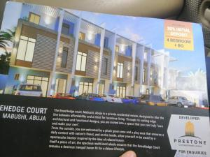 4 bedroom Terraced Duplex House for rent Close to next cash and carry  Mabushi Abuja