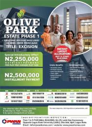 Residential Land Land for sale Abule Pan Ayeteju 30 minutes drive from Ajah  Free Trade Zone Ibeju-Lekki Lagos