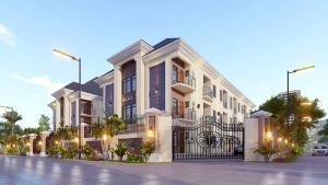2 bedroom Blocks of Flats House for sale Lekki County Homes,Lekki lagso chevron Lekki Lagos