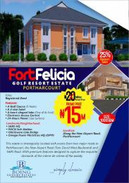 Serviced Residential Land Land for sale Along New Airport Road Port Harcourt Rivers