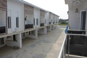 4 bedroom Terraced Duplex House for sale Lafiaji, Shortly after the 2nd Lekki Toll Gate,  Lekki Phase 2 Lekki Lagos