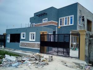 Terraced Duplex House for sale Greenland estate olokanla before SANGOTEDO just after Lagos business school. Graceland Estate Ajah Lagos