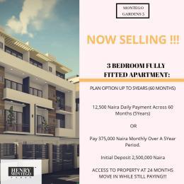 3 bedroom Flat / Apartment for sale Palm City Estate, off Ado Road, Ajah, Lagos Ado Ajah Lagos