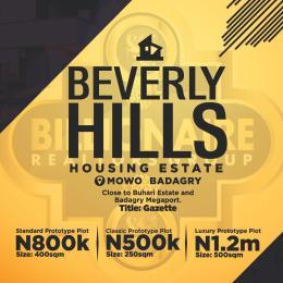 Residential Land Land for sale Mowo Age Mowo Badagry Lagos