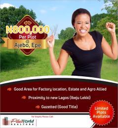 Land for sale Epe ajebo express  Epe Lagos - 0