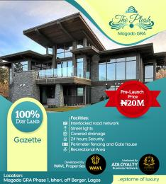 Land for rent Magodo GRA Phase 1, Isheri, off Berger Abule Egba Lagos
