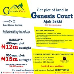 Mixed   Use Land Land for sale Ajah  Abraham adesanya estate Ajah Lagos