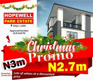 Residential Land Land for sale Lapekun Ibeju-Lekki Lagos