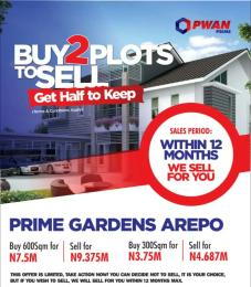Residential Land Land for sale Arepo, Berger, along Lagos Ibadan expressway,  Berger Ojodu Lagos