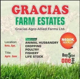 Industrial Land Land for sale Gracias Farm Estates Epe Lagos