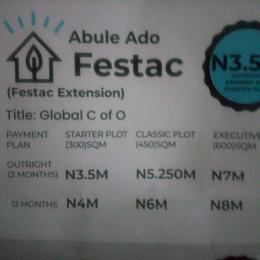 Residential Land Land for sale Abule Ado Festac Extension Orile Lagos
