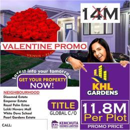 Serviced Residential Land Land for sale Behind Novera mall sagotedo Sangotedo Ajah Lagos