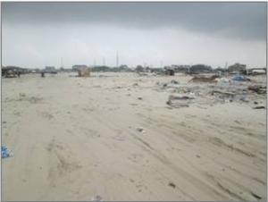 Land for sale Lekki Beach gate street Jakande Lekki Lagos - 0