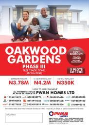 Mixed   Use Land Land for sale Oakwood Gardens Phase 3, Free Trade Zone, Ibeju Lekki Free Trade Zone Ibeju-Lekki Lagos