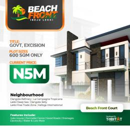 Mixed   Use Land Land for sale Lekki Beach Front Gardens and Lekki Boulevard Gardens Akodo Ise Ibeju-Lekki Lagos