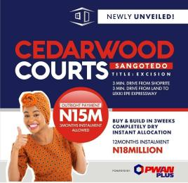 Residential Land Land for sale - Sangotedo Ajah Lagos