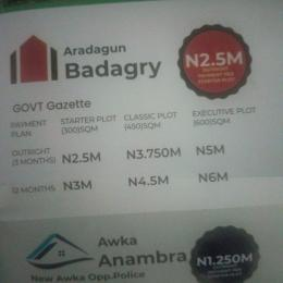 Residential Land Land for sale Aradagun Badagry  Aradagun Badagry Lagos